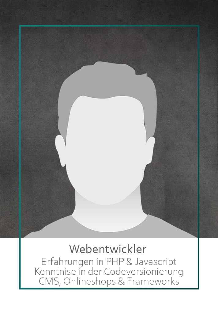 Webentwickler Job