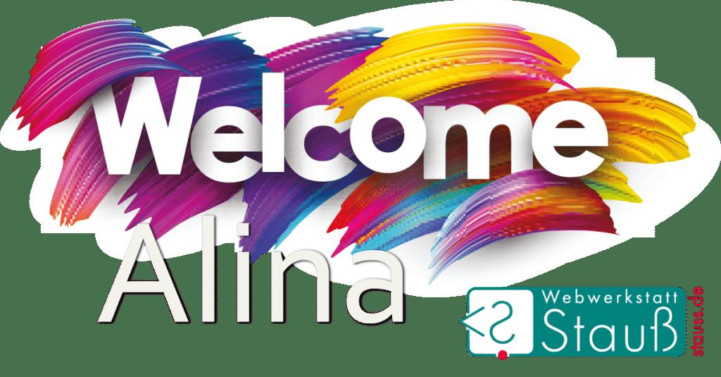 Welcome Alina